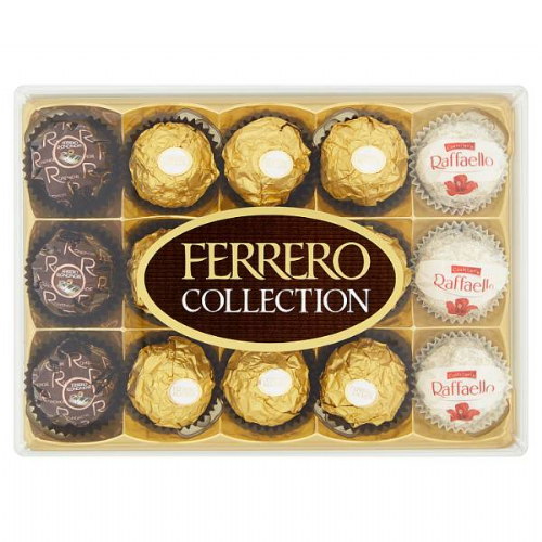 Ferrero Collection Box of Chocolate 15 Pieces (172g)